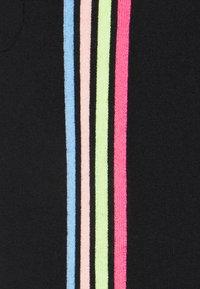 CHINTI & PARKER - STRIPE LEG TRACK PANTS - Tracksuit bottoms - black/multi - 5