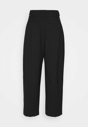 EUNAH TROUSERS - Trousers - black