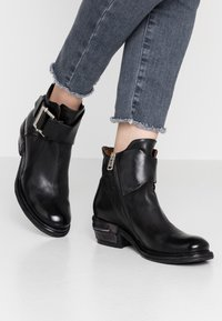 A.S.98 - Cowboy/biker ankle boot - nero - 0