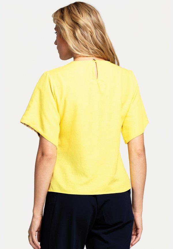 HotSquash Bluzka - yellow/żÓłty ZQJA