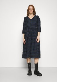 YAS - YASCHIA  DRESS - Robe d'été - night sky/black check - 0