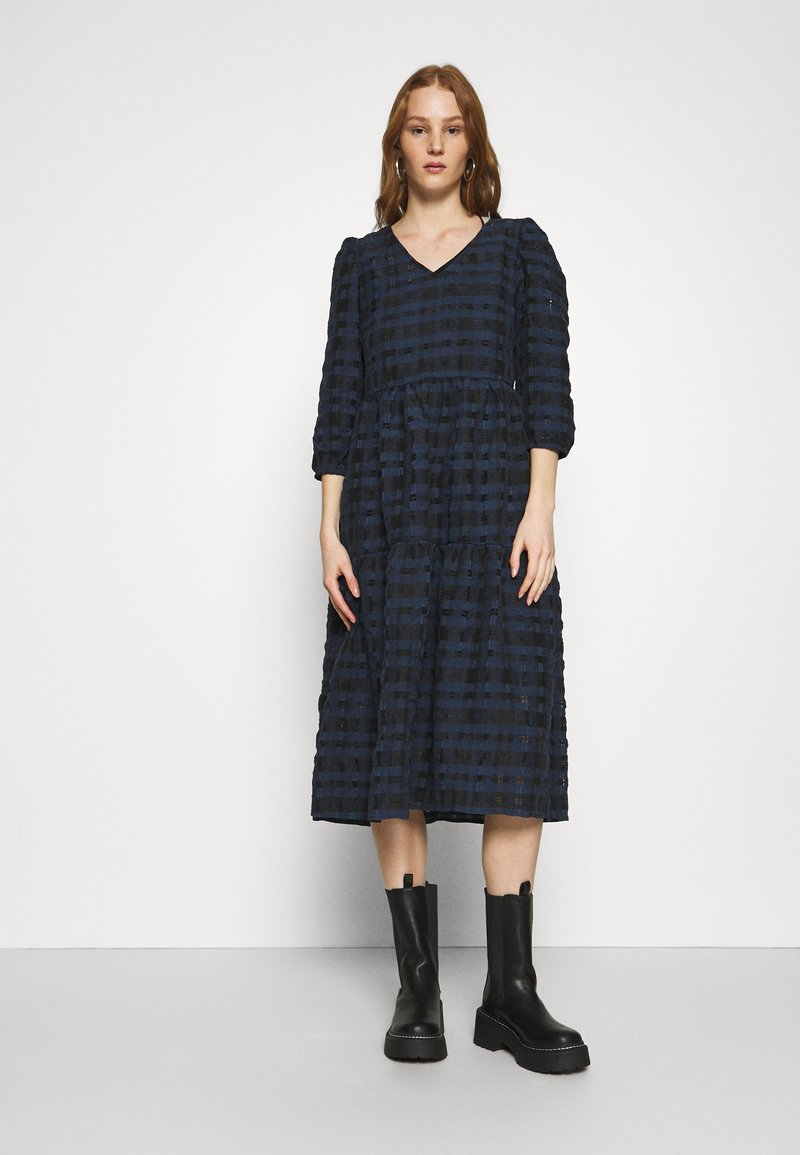 YAS - YASCHIA  DRESS - Robe d'été - night sky/black check