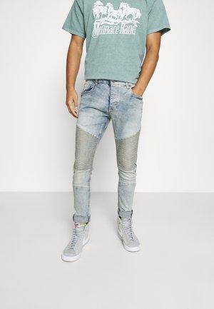 SURFBIKER - Jeans Skinny Fit - light blue