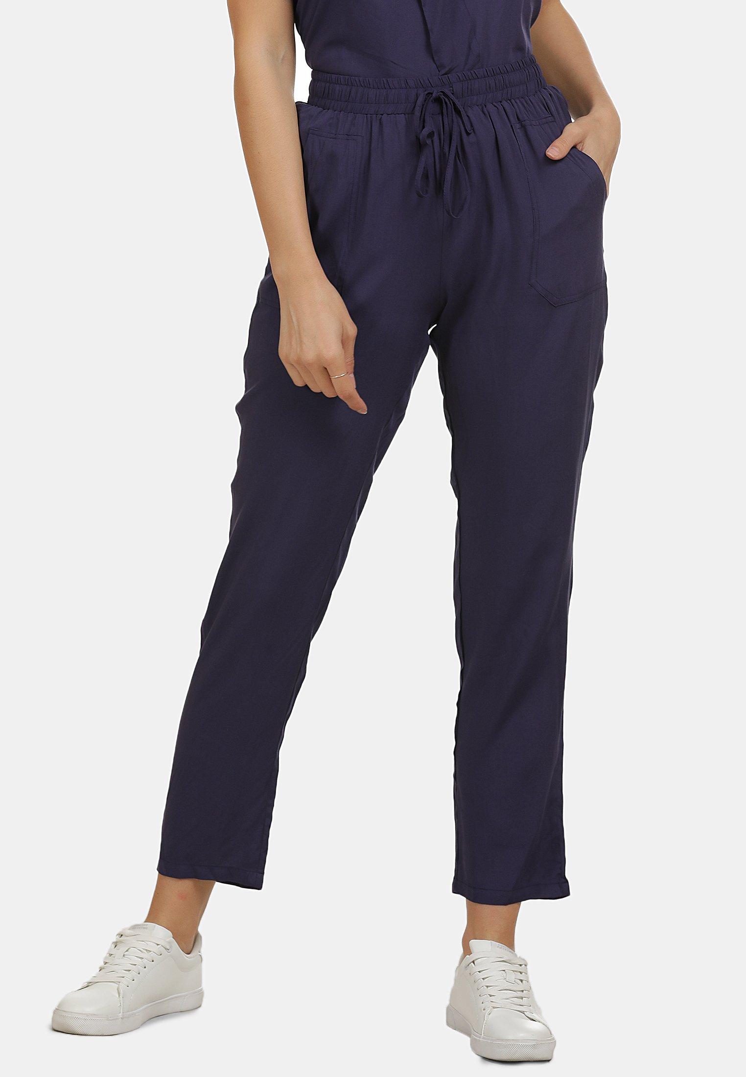 New Fashion Style Of Women's Clothing usha HOSE Trousers marine 9j8s1QoZp