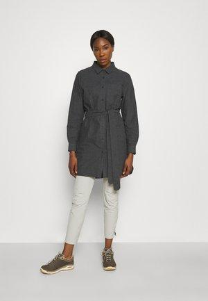 ORGANIC DRESS - Sports dress - ebony melange