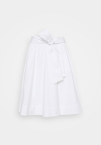 BENITA SKIRT - A-line skirt - white