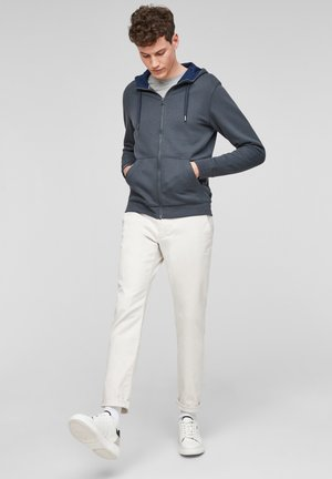KUSCHELIGER - Zip-up hoodie - dark grey