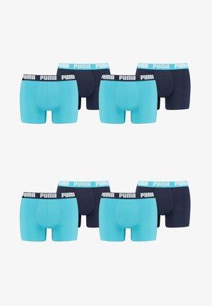 8 PACK - Boxer shorts - aqua blue