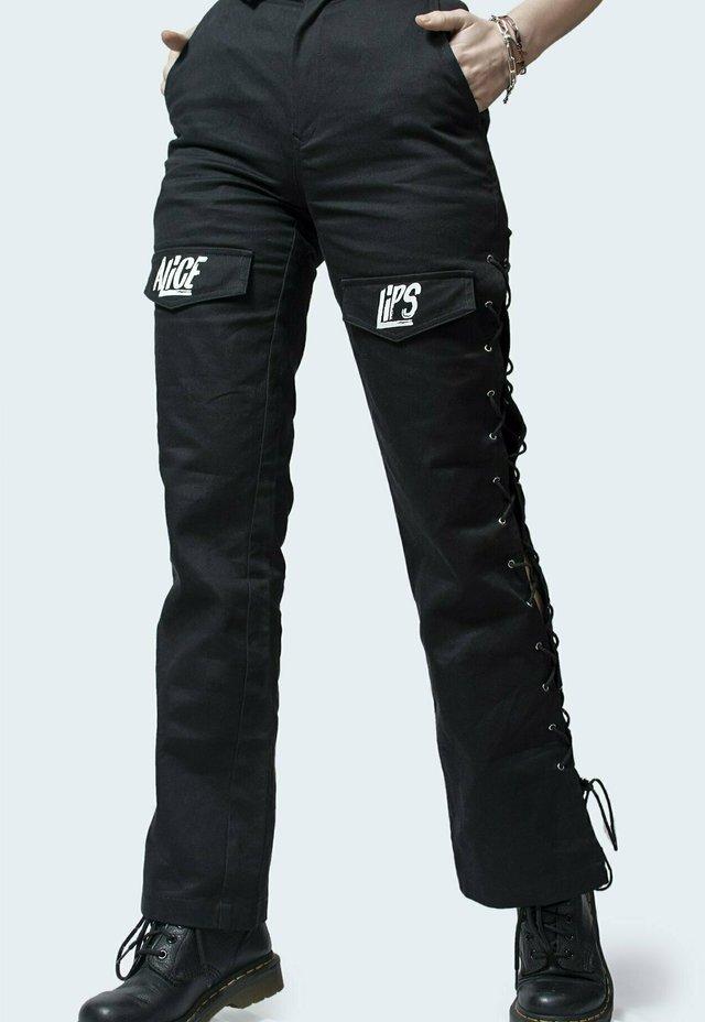 Pantaloni cargo - nero