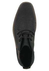 Rieker - NAMUR-AMBOR - Volnočasové šněrovací boty - black - 1