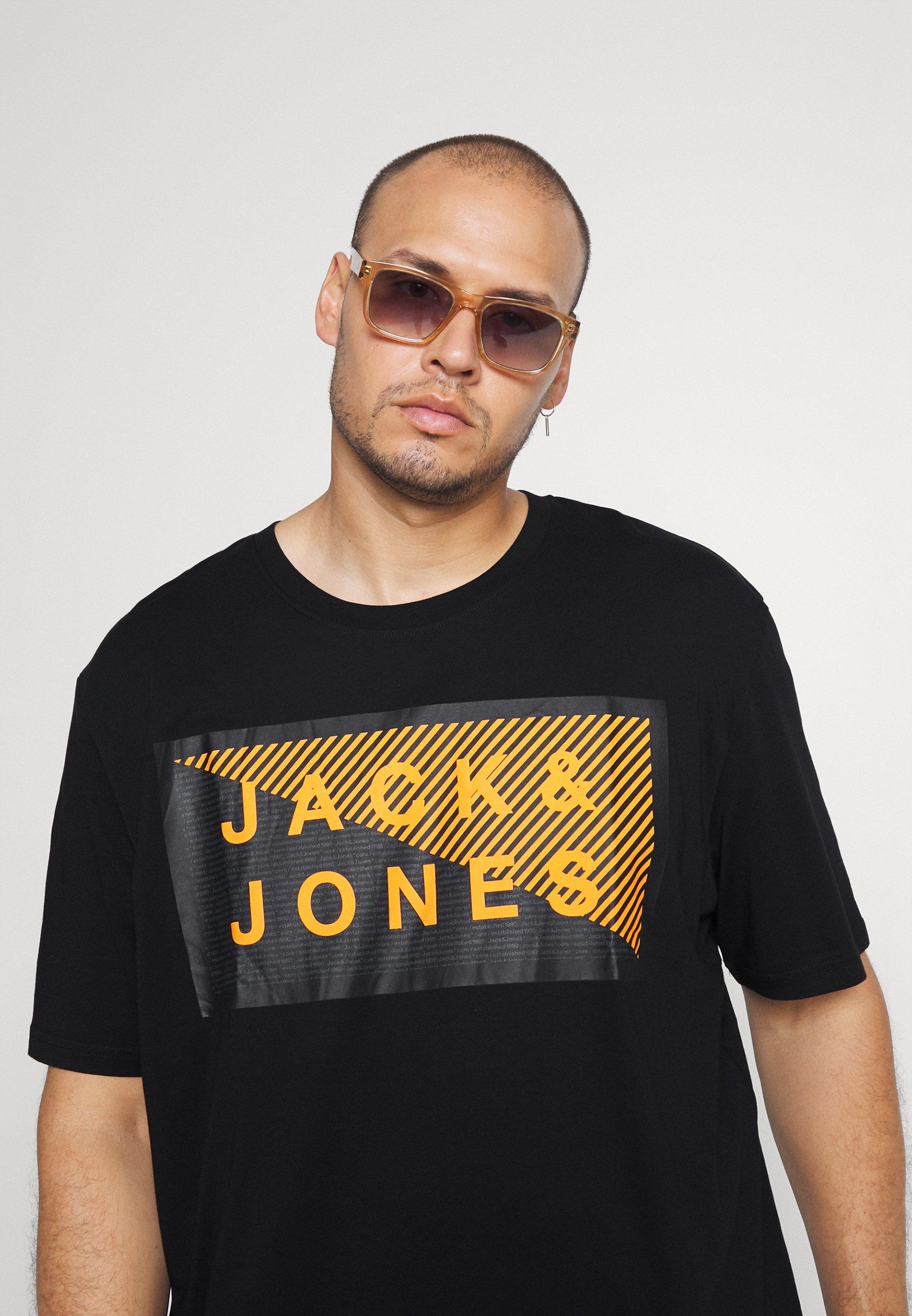 Hombre JCOSHAWN TEE CREW  NECK - Camiseta estampada
