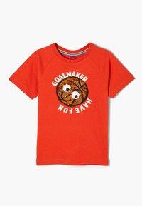 s.Oliver - T-shirt con stampa - dark orange - 2