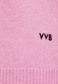 Victoria Victoria Beckham - OVERSIZED MOCK NECK JUMPER - Strikpullover /Striktrøjer - lilac pink - 2