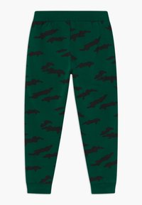 Lindex - MINI TROUSERS STREET PANEL - Tracksuit bottoms - dark green - 1