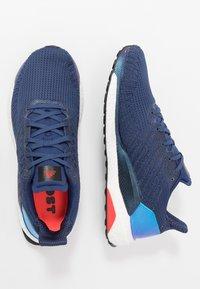 adidas Performance - SOLAR BOOST 19 - Zapatillas de running neutras - tech indigo/dash grey/solar red - 1