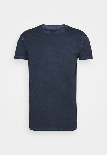 CLAYTON - T-shirt - bas - navy