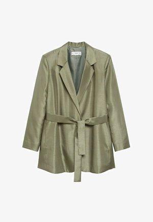 MIT GÜRTEL - Krátký kabát - khaki