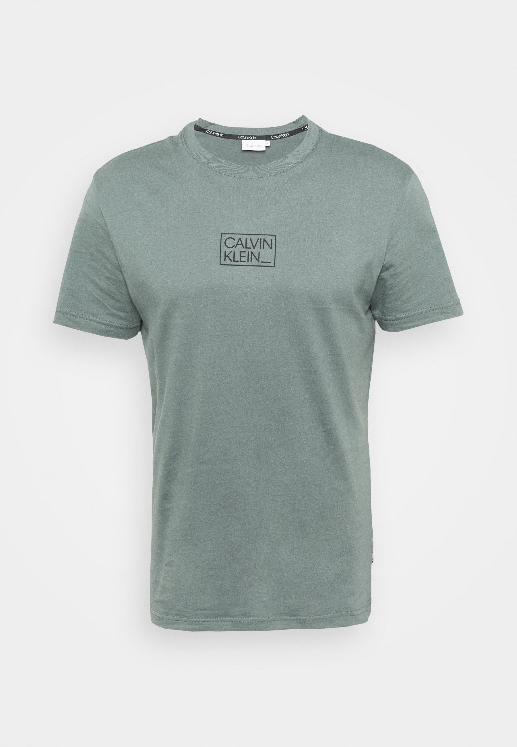 Homme CHEST BOX LOGO - T-shirt imprimé