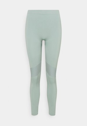 CELESTIA SEAMLESS TIGHTS - Leggings - Trousers - dusty turquoise