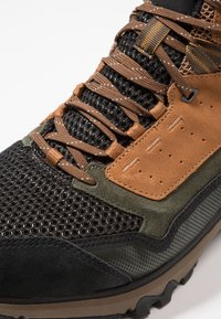 Haglöfs - SKUTA MID PROOF ECO MEN - Hiking shoes - oak/deep woods - 5