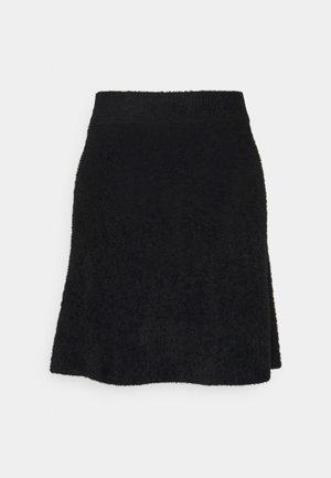 VIHELLY SKATER - A-line skirt - black