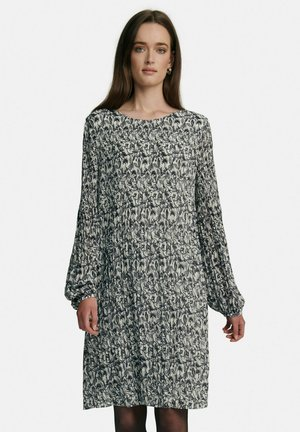 VINE MOTIF - Day dress - grey/black