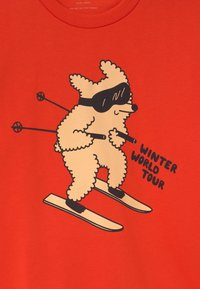 TINYCOTTONS - SKIING DOG UNISEX - Mikina - red/cappuccino - 2