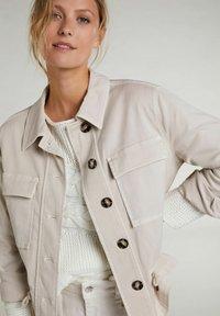 Oui - Summer jacket - light stone - 3