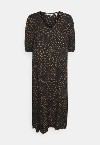 BYFIONE ASHAPE DRESS - Vestito estivo - golden ochre
