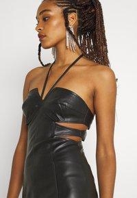 Missguided - DOUBLE CUT OUT MINI DRESS - Cocktail dress / Party dress - black - 3