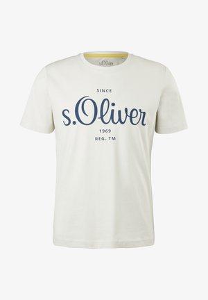 MIT LABEL - Print T-shirt - cream