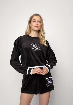 ELENA CREW NECK - Sweatshirt - black