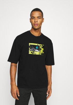 MOON LANDING - Print T-shirt - black