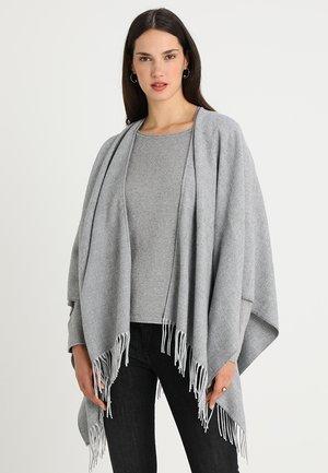 Ponczo - light grey