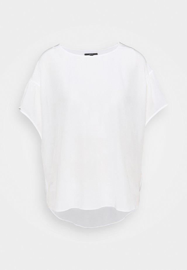 Camiseta básica - off white