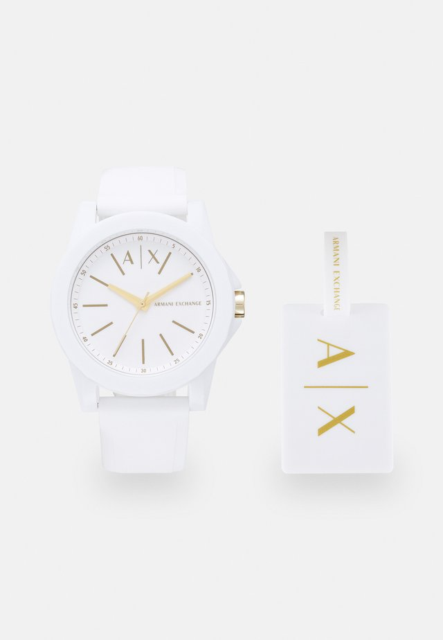 SET - Uhr - white