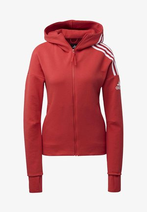 Sweatjacke - glory red