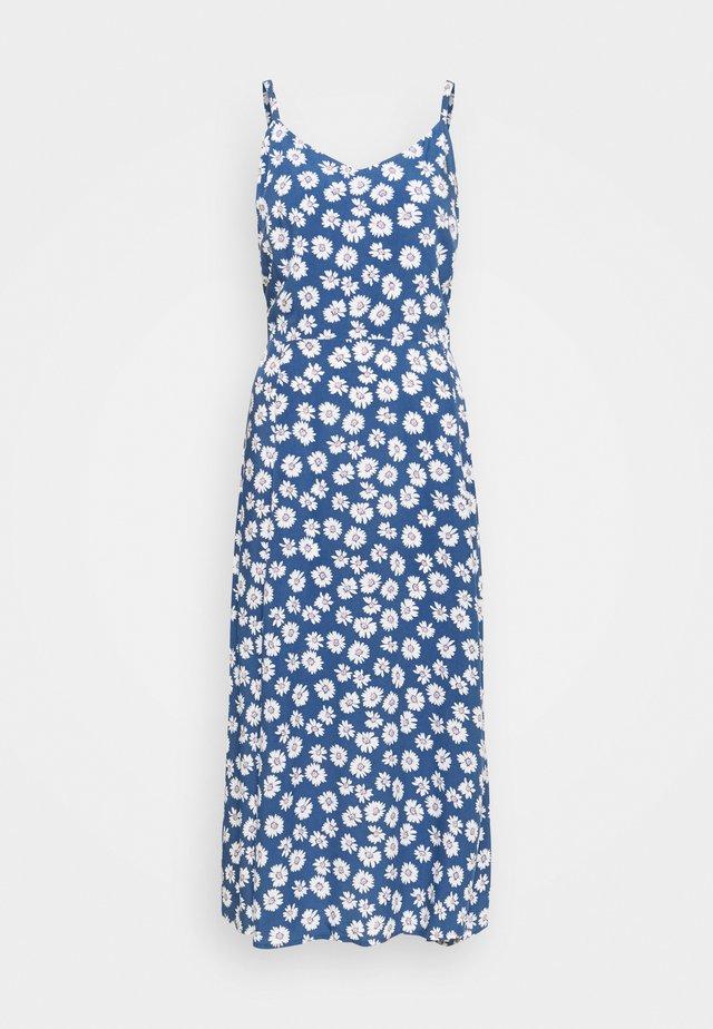CAMI MIDI - Korte jurk - blue