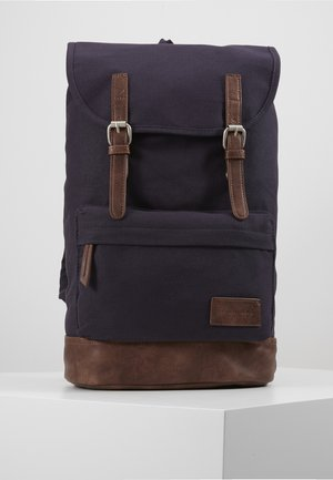 UNISEX - Rugzak - dark blue/brown