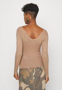 Even&Odd - BARDOT NECKLINE - Pullover - camel - 2