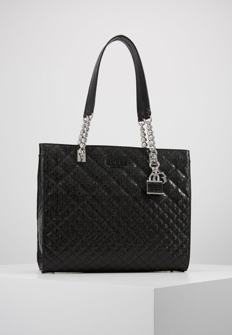Guess - QUEENIE TOTE - Tote bag - black