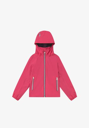 Waterproof jacket - berry pink