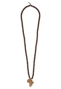 Wood Fellas - DICE - Necklace - brown - 0