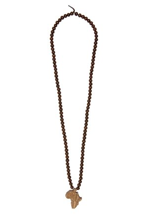 DICE - Necklace - brown