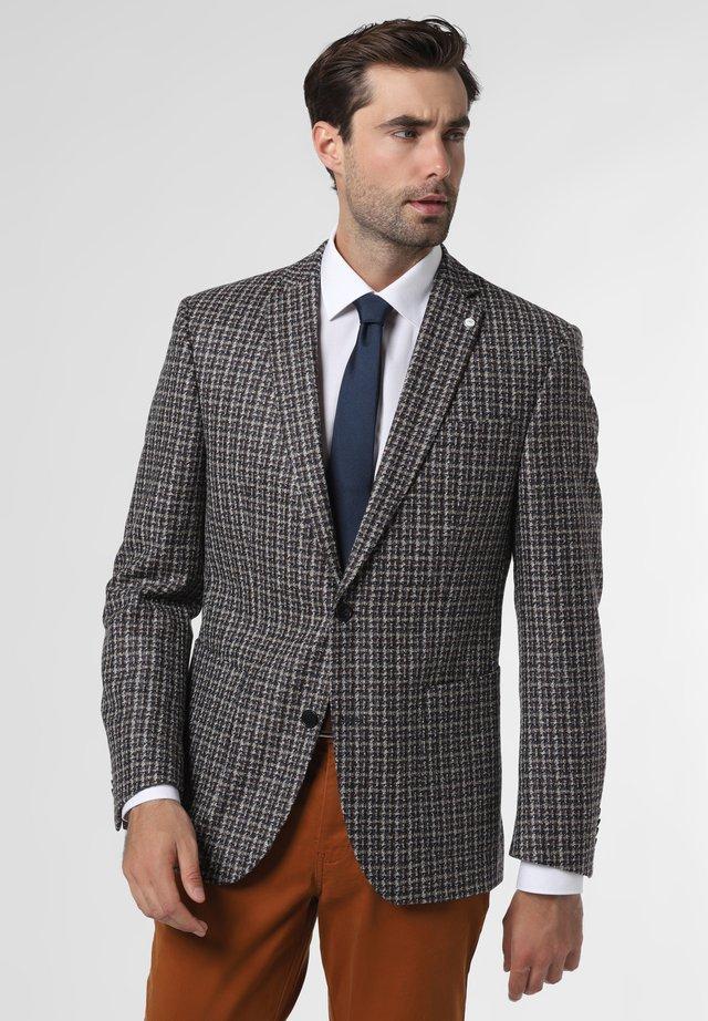 BRAYDEN - Blazer jacket - braun blau
