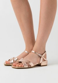 Anna Field - LEATHER - Sandals - rose gold - 0
