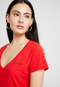 G-Star - GRAPHIC LOGO - T-shirt - bas - acid red - 4