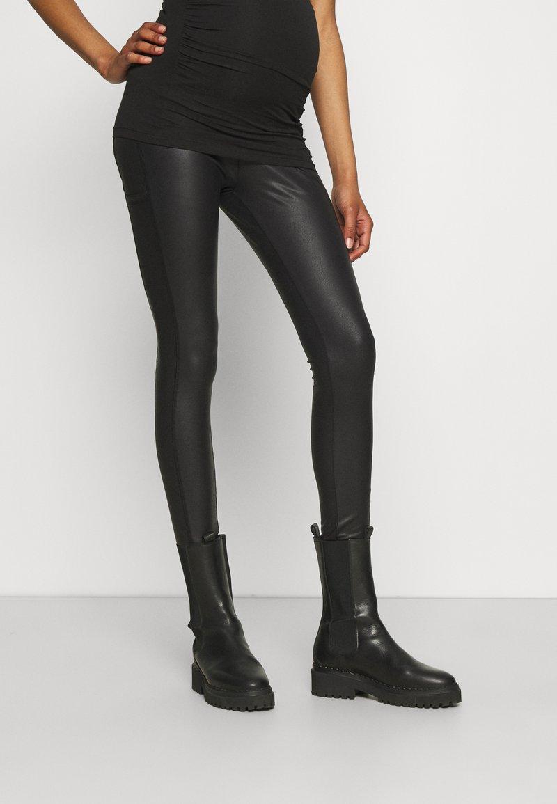 LOVE2WAIT - SIDEPOCKETS - Trousers - black