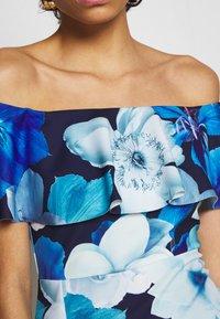 Dorothy Perkins - LUXE FLORAL BARDOT DRESS - Etuikjole - blue - 5