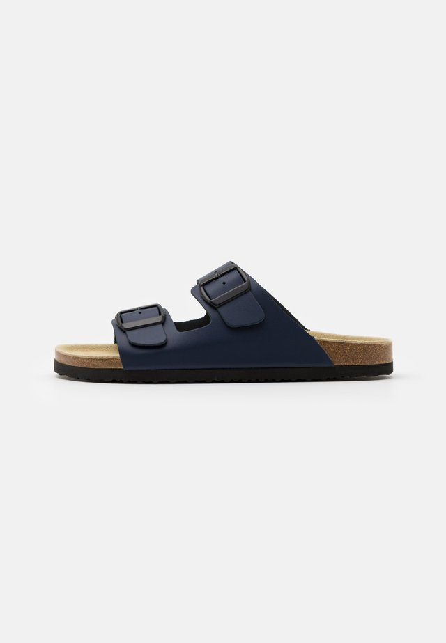 UNISEX - Slippers - dark blue
